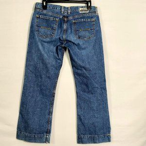 Lucky Vintage 90s Crop Flare Jeans 6 28 Low Rise S